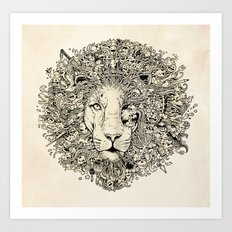 The King's Awakening Art Print