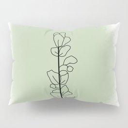 Green Eucalyptus Pillow Sham