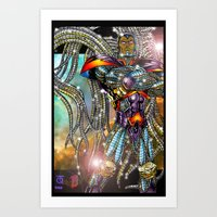 Lord Chronius Art Print