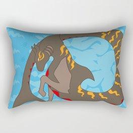 Tiger Shark Hippocampus Rectangular Pillow