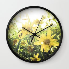 LUV IN THE SUN Wall Clock