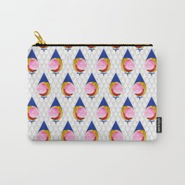 048 birdie kisses the sweet morning raindrop pattern Carry-All Pouch