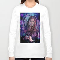 amy pond Long Sleeve T-shirts featuring Amy Pond by Sirenphotos