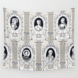 Science Women Toile de Jouy Wall Tapestry