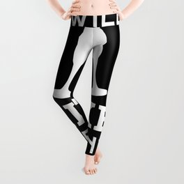 Drinking champagne alcohol party Leggings