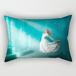 Cathedrals of the Mind Rectangular Pillow
