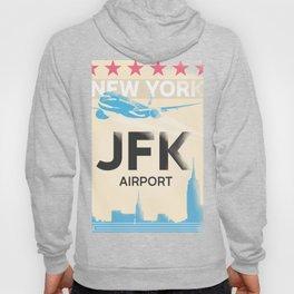 JFK stylish airport code Hoody