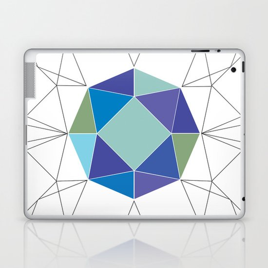 Diamonds are forever Laptop & iPad Skin