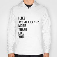 jessica lange Hoodies featuring Jessica Lange American Horror Story by NameGame