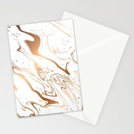 Golden Marble 009 Stationery Cards