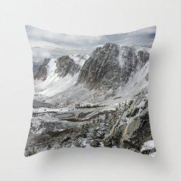 Wyoming Wonderland Throw Pillow