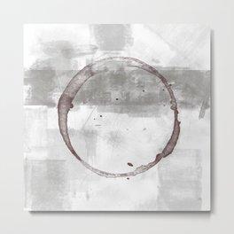 Circle stain #63 Metal Print