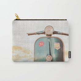 The Blue Vespa Carry-All Pouch