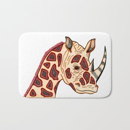 Rhinoceraffe Bath Mat