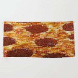 Pepperoni Pizza Beach Towel