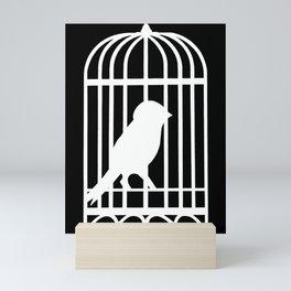White Bird Mini Art Print