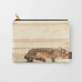 The sun shines on all cats equally Carry-All Pouch