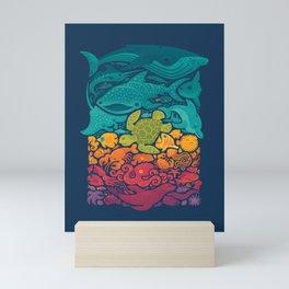 Aquatic Spectrum Mini Art Print