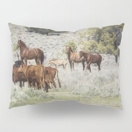 Meeting of the Herds Pillow Sham
