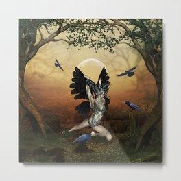 The dark angel Metal Print