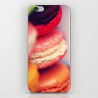 macaroons iPhone & iPod Skins featuring Macaroons by Sushibird