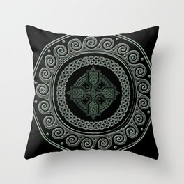 Awesome Celtic Cross Throw Pillow