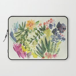 Florals and Corals Laptop Sleeve