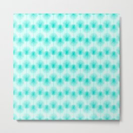Tropical Teal Metal Print
