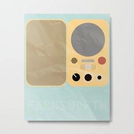 Farnsworth Metal Print