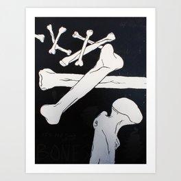 """John Donne's Bones"" Art Print"