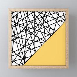 Lazer Dance YY Framed Mini Art Print