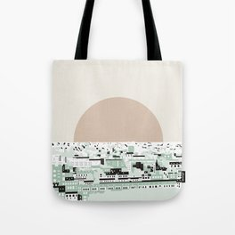 Rooftop view_2 Tote Bag