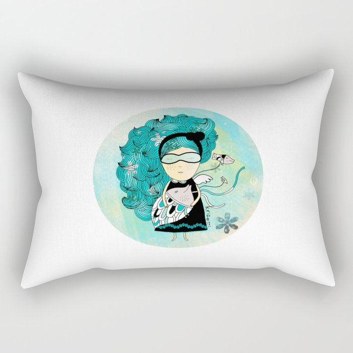 Fish Rectangular Pillow