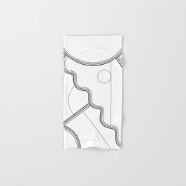 White Magic II Hand & Bath Towel