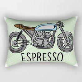 Espresso - Cafe Racer Rectangular Pillow
