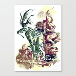 BAD MOON - FALL Canvas Print
