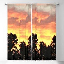 Sunset In The Neighborhood Blackout Curtain