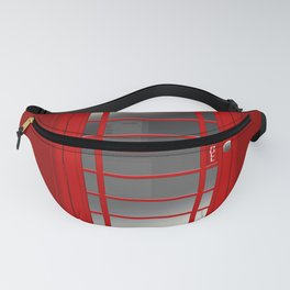 London Telephone Red Call Box Fanny Pack