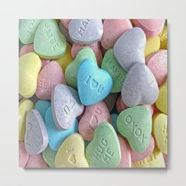 Hearts for your Sweetheart Metal Print