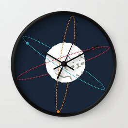 Cat-ion Wall Clock