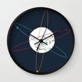Cat-ion Wall Clock