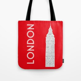 I Miss London Tote Bag