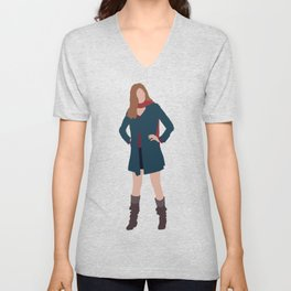 Amy Pond: The Girl Who Waited Unisex V-Neck