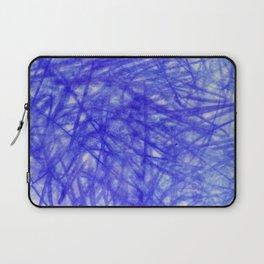 Ophelia Blue Scribble Laptop Sleeve