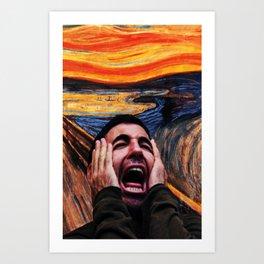Lito Screaming - Sense8 Art Print