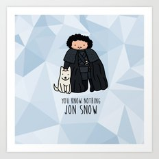 You know it's coming Art Print
