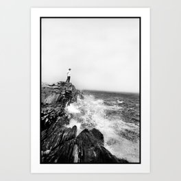 Peaks Island Art Print