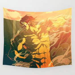 eren fulltitan mode Wall Tapestry