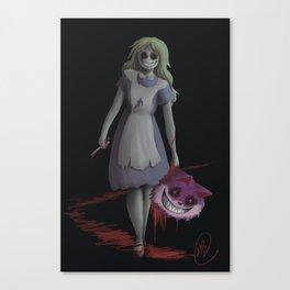 Bad Alice Canvas Print