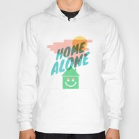 home alone Hoodies featuring Home Alone by Nick Nelson